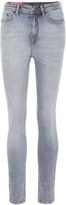 Acne Studios Bla Konst Peg high-rise skinny jeans