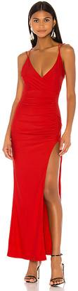 superdown Karmin Ruched Maxi Dress