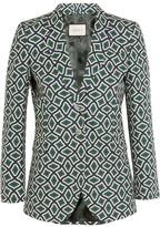Gucci Printed Cotton Blazer - Emerald