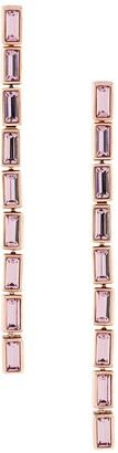 Swarovski Fluid detachable drop earrings