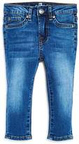 7 For All Mankind Boys' Medium-Wash Slim Straight-Leg Jeans - Baby