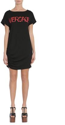 Versace Logo T-Shirt Dress
