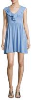Susana Monaco Holly Gathered Mini Dress