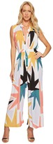 Mara Hoffman Superstar Sleeveless Gather Jumpsuit Women's Jumpsuit & Rompers One Piece