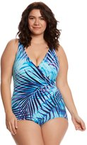 Miraclesuit Plus Size Oceanus Palm Reader One Piece Swimsuit 8150936