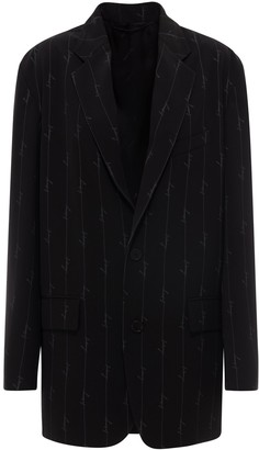Balenciaga Boxy Single-Breasted Blazer