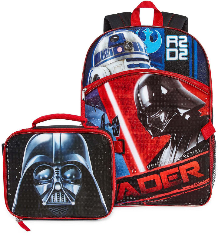 Star Wars Backpack Lunch Box Set