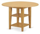 Tyshawn Drop Leaf Solid Wood Dining Table Charlton Home Color: Oak