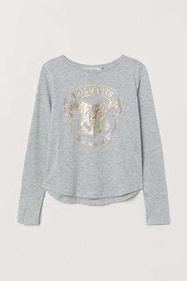 H&M Printed jersey top