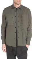 G Star Men's Powel Zip Pocket Shirt