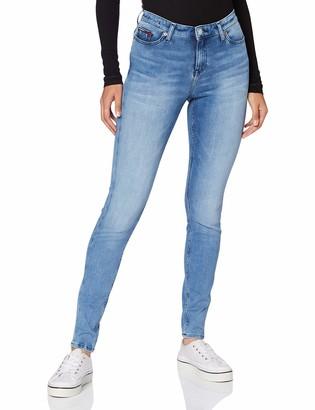 Tommy Jeans Women's Nora Mr Skinny Dyamd Straight Jeans