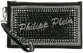 Philipp Plein embellished clutch