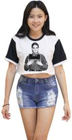Me Women's Elvis Presley Crop T-shirt