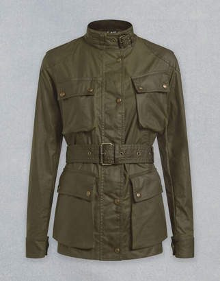 Belstaff TRIALMASTER WAXED JACKET Green UK 4 /