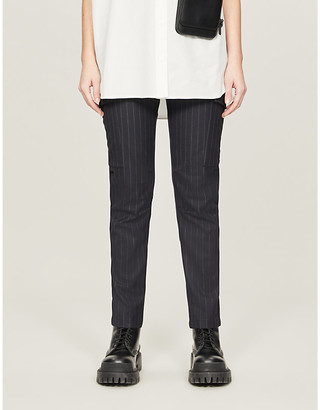 Zadig & Voltaire Palmy high-rise woven trousers