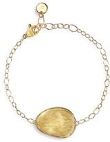 Marco Bicego 18K Yellow Gold Engraved Lunaria Pendant Bracelet