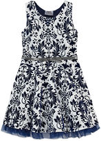 Knitworks Knit Works Elbow Sleeve A-Line Dress - Preschool Girls