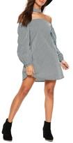 Missguided Women's Choker Collar Trapeze Dress