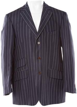 Hackett London Navy Linen Jackets