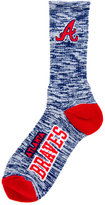 For Bare Feet Atlanta Braves RMC 504 Crew Socks