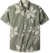 Quiksilver Waterman Men's Sunburst Tailored Fit Button Down Casual Shirt