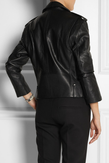 Theory Dalayan leather biker jacket