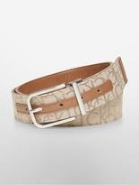 Calvin Klein Reversible Logo Jacquard Belt