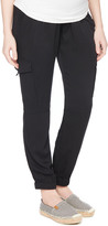 Motherhood Secret Fit Belly Drapey Maternity Cargo Pant