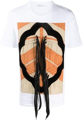 Craig Green drawstring-embellished cotton T-shirt