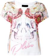 Philipp Plein Double Face T-shirt - women - Cotton - XS