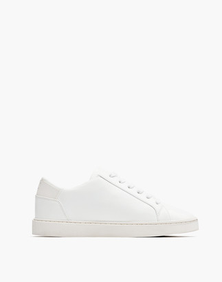 Madewell Thousand Fell Vegan Leather Lace-Up Sneakers