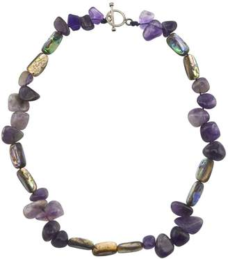 Mother of Pearl Gisy Lennox Amethyst & Necklace
