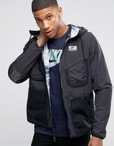 Nike International Hooded Jacket In Black 802482-010