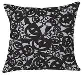 """Deny Designs Black Heather Dutton Something Wicked This Way Comes Throw Pillow (20""""x20"""