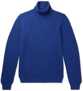 Altea Ribbed Virgin Wool Rollneck Sweater