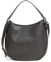 Rebecca Minkoff Unlined Convertible Whipstitch Hobo - Black