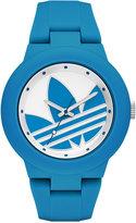 adidas Women's Originals Blue Silicone Strap Watch 41mm ADH3118