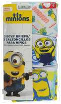 "Minions Little Boys' ""Sketch"" 3-Pack Briefs"