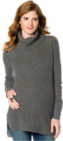 A Pea in the Pod Maternity Sweater, Long Sleeve Cable Knit