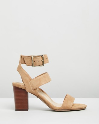 Vionic Women's Neutrals Heeled Sandals - Sofia Heeled Sandals - Size One Size, 5 at The Iconic