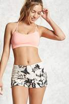 Forever 21 Active French Terry Tie-Dye Shorts