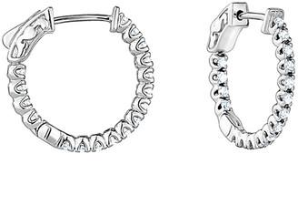 Diana M Fine Jewelry 14K 1.00 Ct. Tw. Diamond Earrings