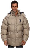 U.S. Polo Assn. Signature Long Bubble Coat w/ Large Pony & Polar Fleece Lining
