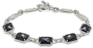 Effy Sterling Silver Onyx Toggle Bracelet