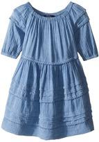 Polo Ralph Lauren Chambray Gauze Dress Girl's Dress