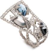 Alexis Bittar Mosaic Lace Fan Ring