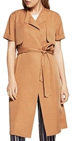 BCBGeneration Lightweight Belted Trench Jacket