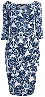 Chiara Boni Florien Print Wrap Dress