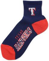 For Bare Feet Texas Rangers Ankle TC 501 Medium Socks