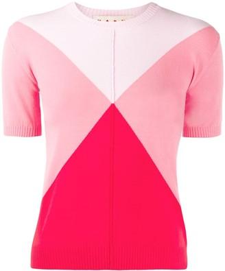 Marni Diamond Knitted Top